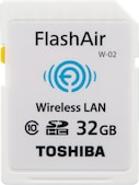 SDHC FlashAir W-02 32GB Class 10 (SD-F32AIR-BL8)
