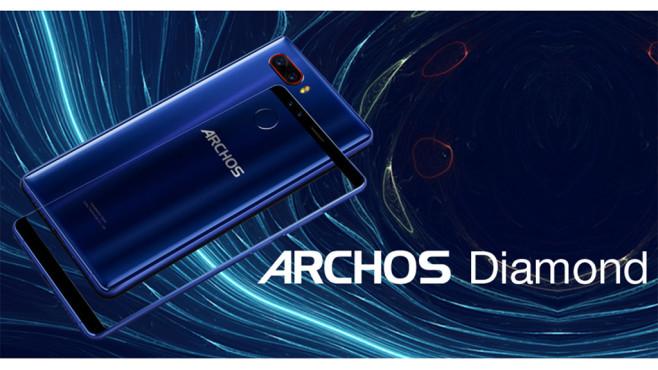 Das neue Smartphone von Archos überzeugt mit starker Technik. ©Archos