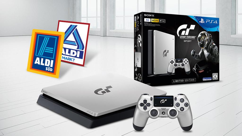 aldi verkauft ps4 als gt sport bundle computer bild spiele. Black Bedroom Furniture Sets. Home Design Ideas