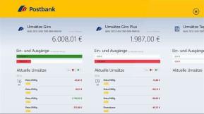 Postbank Finanzassistent (App für Windows 10 & 8)