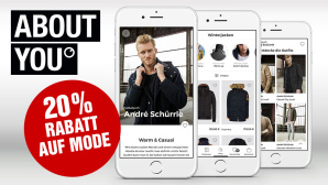 Aktion: 20 % Rabatt bei About You © About You, COMPUTER BILD
