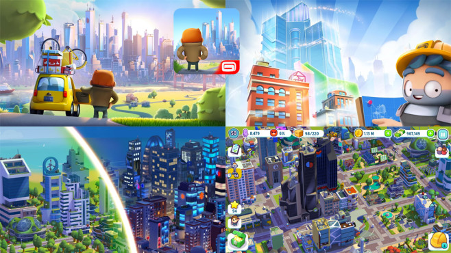 City Mania – Town Building Game © Gameloft