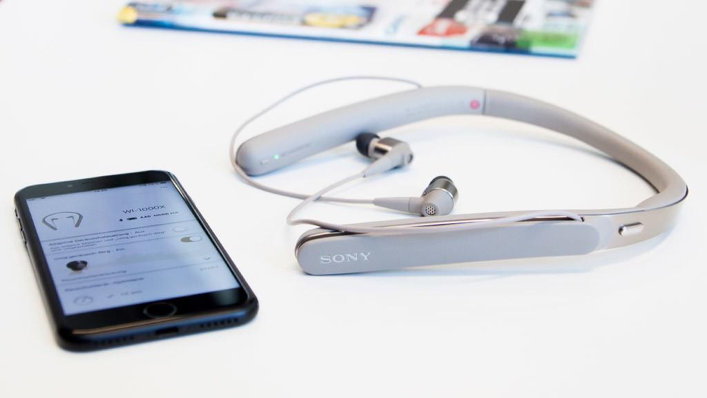 Sony WI-1000X ©COMPUTER BILD