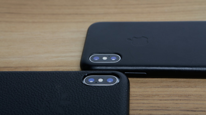 Apple iPhone X: Leder-Cover im Vergleich ©COMPUTER BILD