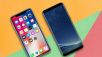 Apple iPhone X gegen Samsung Galaxy S8 © Apple, Samsung