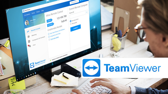 TeamViewer 13 ©Team Viewer, Rawpixel.com-Fotolia.com