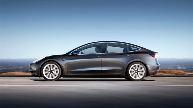 Tesla Model 3 ©Tesla Motors