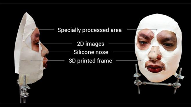 Face-ID-Hack mit Maske ©Bkav Corp