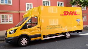 DHL-Fahrzeug ©DHL