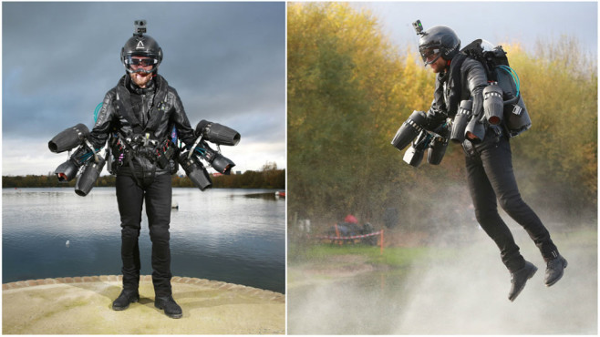 Richard Browning: Jetpack © Guinness World Records