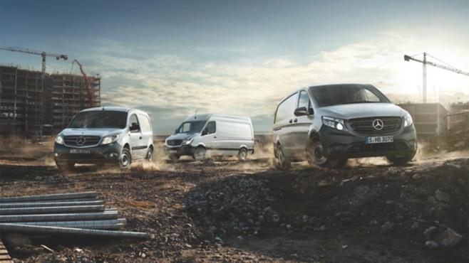 Bei Transportern setzt Mercedes auf Elektro-Mobilität