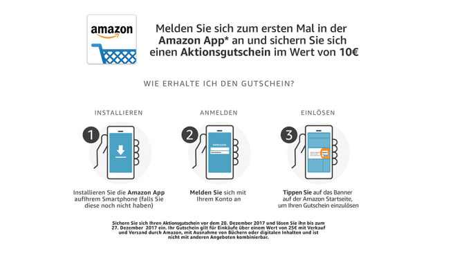 AMAZON GUTSCHEIN INTERNET