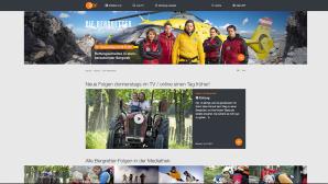 ZDF-Serie in Ultra-HD und mit HDR Die Bergretter ©ZDF