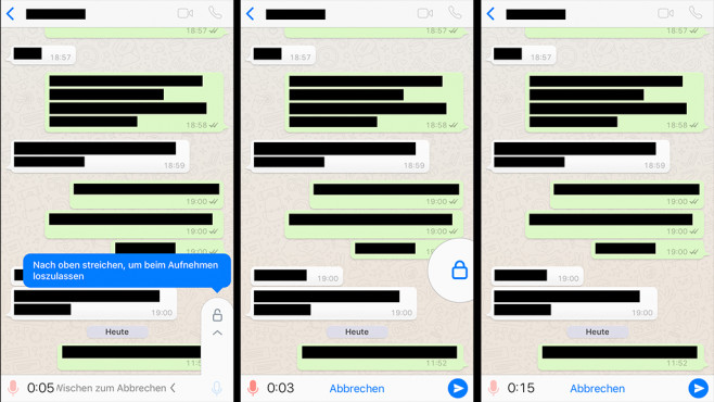 WhatsApp-Update: Sprachnachrichten freihändig ©COMPUTER BILD
