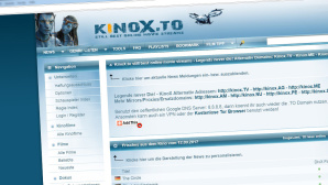 Gefälschte Abmahn-Mails im Umlauf ©Kinox.to