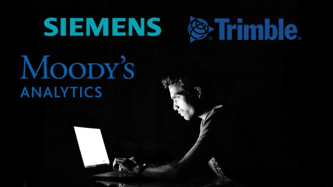 Siemens, Trimble, Moody´s ©Pixabay, Siemens, Trimble, Moody´s Analytics
