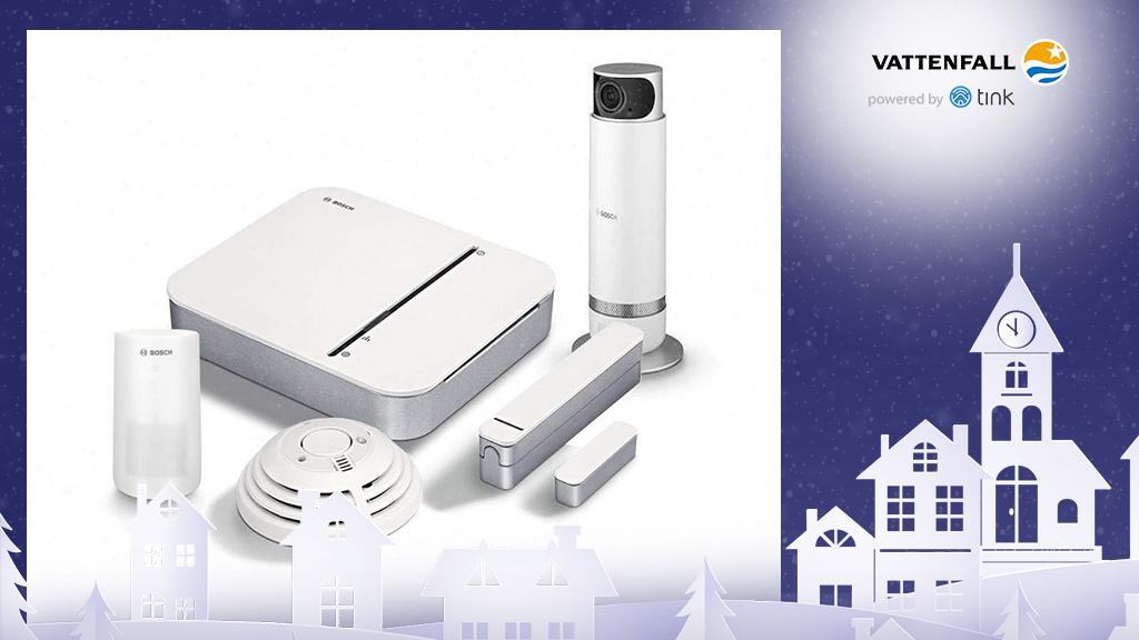 Gewinnen Sie ein Smart Home-Starter-Set Sicherheit mit 360-Grad-Innenkamera von Bosch. ©Bosch, ©istock/thanaphiphat