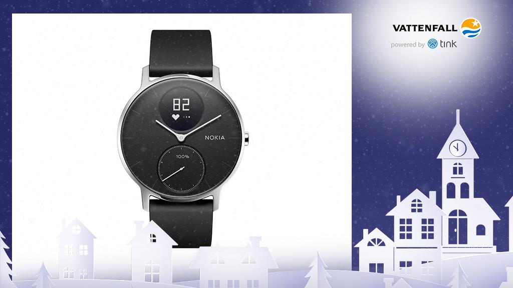Gewinnen Sie eine Activité Steel HR Smartwatch von Nokia. ©Nokia, ©istock/thanaphiphat