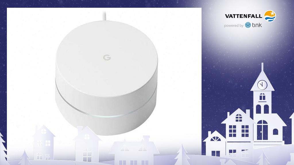 Gewinnen Sie ein WiFi WLAN-Verstärker-System und -Router von Google. ©Google, ©istock/thanaphiphat