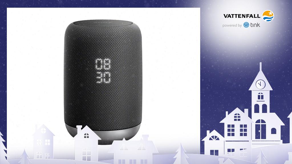Gewinnen Sie einen LF-S50G kabellosen Lautsprecher mit integriertem Google-Assistant von Sony. ©Sony, ©istock/thanaphiphat