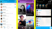 Snapchat neues Design Update Freunde Entdecken ©Snap Inc.