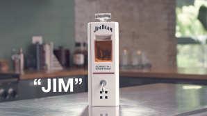 Jim Beam: Whiskey-Dekanter Jim © YouTube / Jim Beam