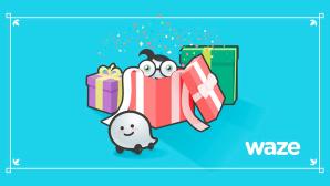 Waze hat Geschenke ©Waze