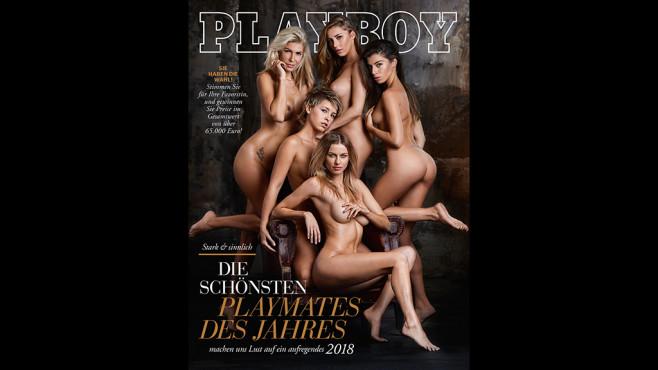Playboy Januar 2018 ©Sacha Eyeland für Playboy Januar 2018