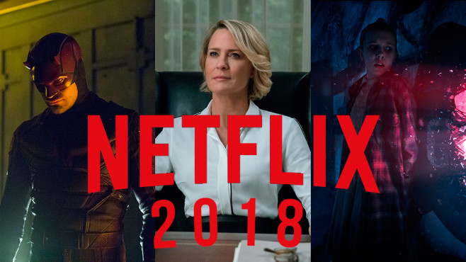 Netflix Originals Serien-Highlights 2018 © Netflix