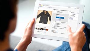 bei Ebay steigern per Tablet ©Ebay, ©istock/Halfpoint