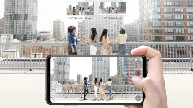 LG V30 besonders günstig mit Tarif kaufen ©LG
