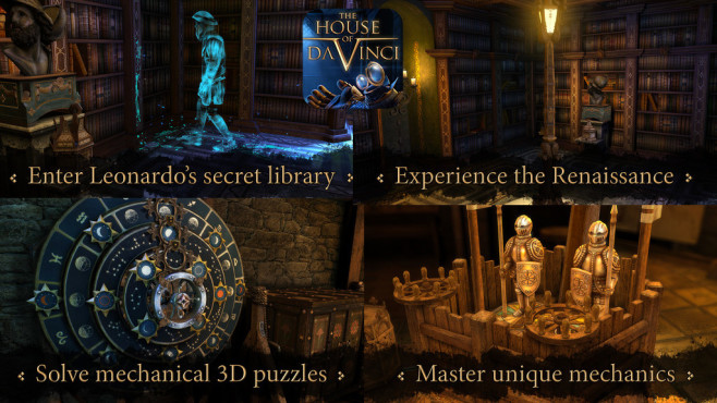 The House of da Vinci © Blue Brain Games