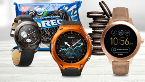 Android Wear Oreo © istock.com/PurpleTurtlePhoto, magdal3na-Fotolia.com, ©istock.com/jfmdesign, Casio, Fossil, Huawei