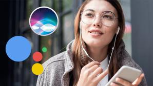 Sprachassistenten per Kopfhörer nutzen ©Apple, Google, ©istock/seb_ra