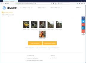 JPEG-Bilder und Fotos in PDF umwandeln