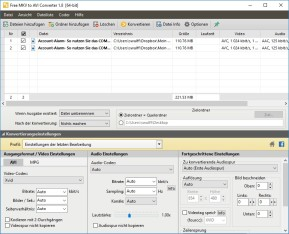 Pazera Free MKV to AVI Converter Portable