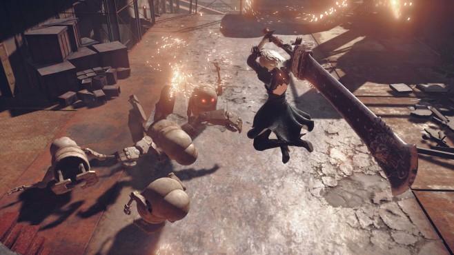 """Platinum Games: """"Bayonetta""""-Entwickler werkelt an eigenem Spiel Wird das neue Platinum-Spiel in die Kerbe von """"Nier: Automata"""" schlagen? ©Square Enix"""