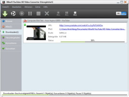 Screenshot 1 - Xilisoft YouTube HD Video Converter