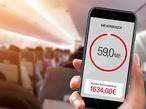 Surfen im Flugzeug: Das kann teuer werden