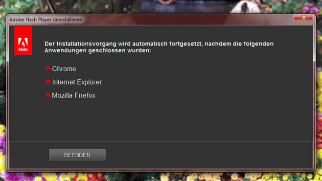 Adobe Flash Player deinstallieren: So verschwindet der Unsicherheitsfaktor ©COMPUTER BILD