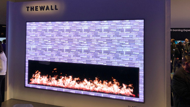 Samsung The Wall © COMPUTER BILD