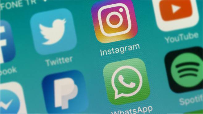 App-Icons von Instagram und WhatsApp ©©istock.com/bombuscreative