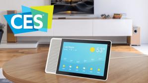Smart Screen mit Temperaturanzeige ©Google, CES