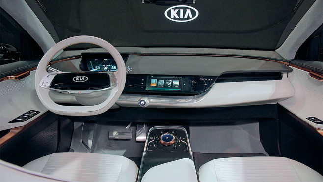 Kia Cockpit © Kia Motors