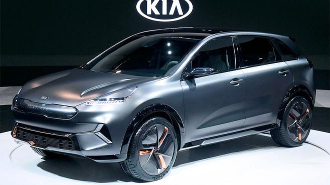 Kia Niro EV Concept ©Kia via Auto Bild