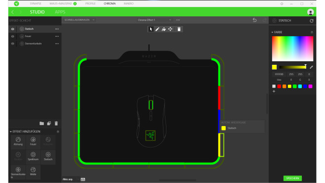 Razer Hyperflux – Chroma Studio ©COMPUTER BILD