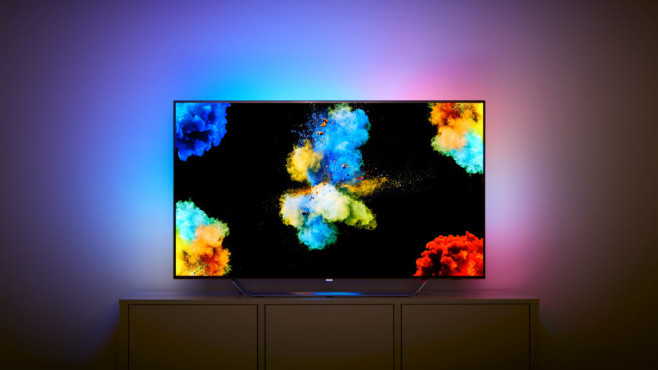 philips hue sync ambilight funktion f r computer computer bild. Black Bedroom Furniture Sets. Home Design Ideas