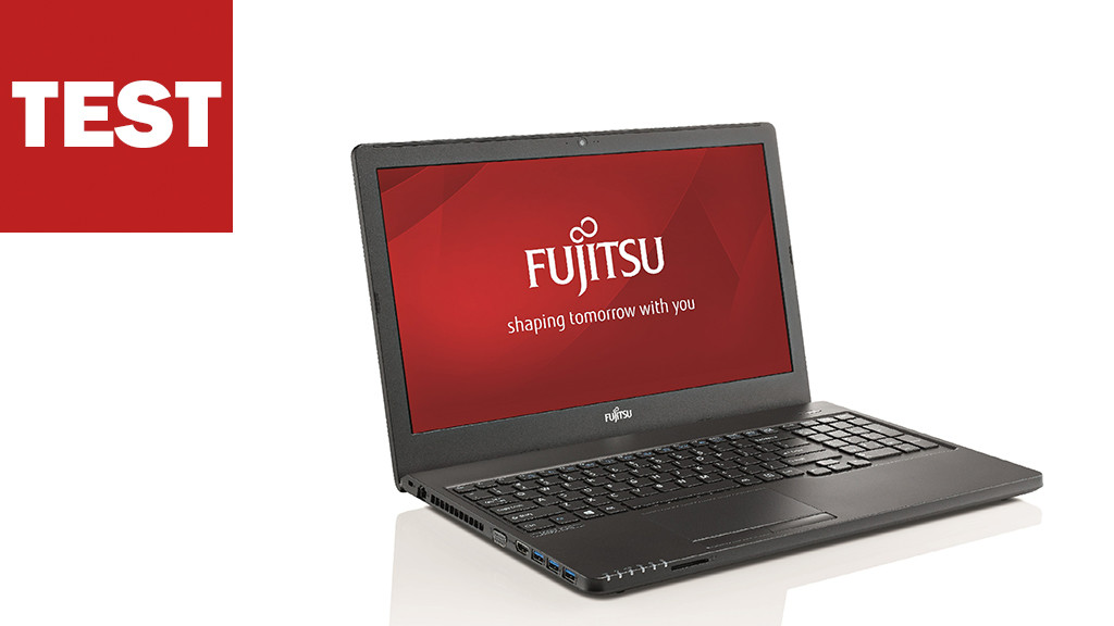Fujitsu LifeBook A555 im Test ©FUJITSU, COMPUTER BILD
