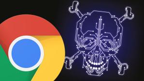 Google Chrome, Totenkopf ©Google, ©istock/DimaChe