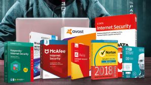 Security Suiten ©Bitdefender, Kaspersky, Eset, G Data, Norton, Avira, Avast, McAfee, ©istock/frankpeters